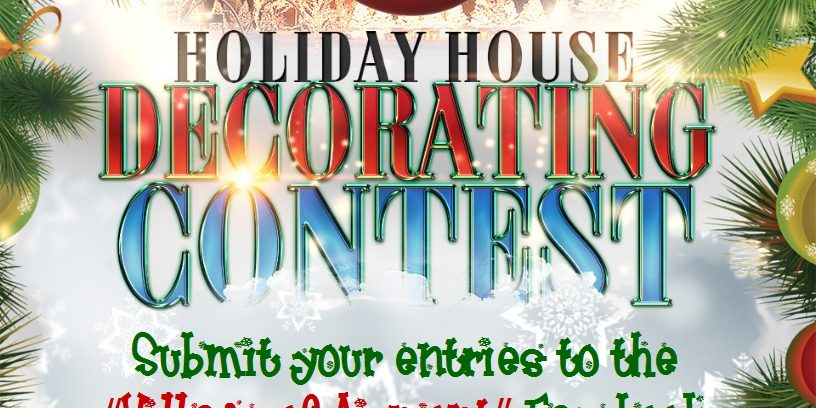 Holiday House Decorating Contest Entries Due Dec 18th Village Of